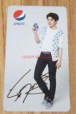 INFINITE PEPSI KOREA K-POP SUNGJONG SUNG JONG OFFICIAL PHOTO CARD PHOTOCARD 5