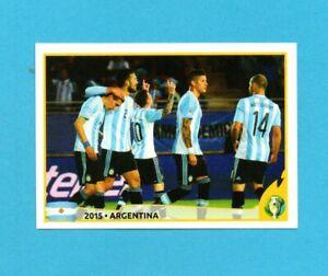 COPA AMERICA 2019 BRASILE-PANINI-Figurina n.392-TEAM ARGENTINA 2015-NEW VELINA