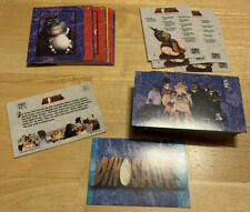 dinosaurs pro set trading cards complete set walt disney tv show