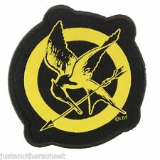 """Hunger Games Katniss Costume Cosplay Mockingjay Patch Sew On 3"""" New Neca"""