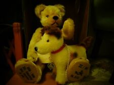 rare green tag hermann max hermann the bear with the running dog l/e growler