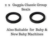 Gaggia Classic Group Seal  Gasket x 2 Also For Baby & New Baby