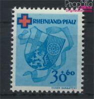 Franz. Zone-Rheinland Pfalz 44A postfrisch 1949 Rotes Kreuz (8984171