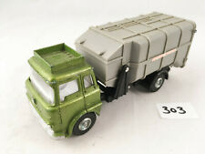 LATE VINTAGE DINKY TOYS # 978 BEDFORD TK REFUSE WAGON DIECAST TRUCK LORRY GREEN