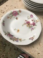 LIMOGES THEODORE HAVILAND SOUP BOWL PERSIAN GARDEN