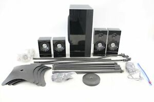 SAMSUNG Surround Sound Speaker System With Stands Colour Black - C92