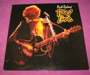 BOB DYLAN - REAL LIVE - CBS UK 1984 ARCHIVE MINT ORIGINAL SLEEVE & DISC ARE MINT