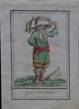 Grasset de st Sauveur J. (1757-1810) - gravure orig- Costumes de différents pays