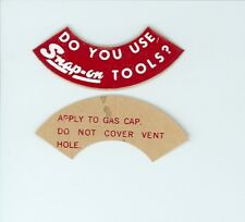 NEW Vintage Do You Use Snap-on Tools? Tool Box Sticker Decal Man Cave1960's DC65