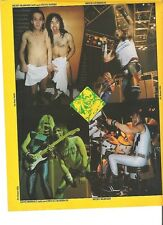 """IRON MAIDEN Nicko and Steve in towels  magazine PHOTO / mini Poster 11x8"""""""