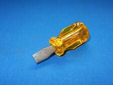 Schraubendreher Schraubenzieher SKG Schlitz 1x10x25 1 x 10 x 25 kurz gelb Bund