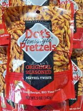 Dots Homestyle Pretzels (6) 5oz. Bags 30oz. Total Seasoned Pretzel Snack Sticks