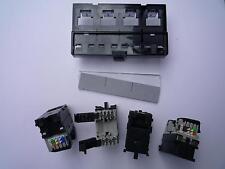 Legrand Modul Mosaic VDI Cat5 Cat6 FTP 4x RJ45 für Patchmanel Ethernet Schwarz
