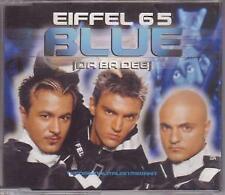 """EIFFEL 65 Blue CD 4 Track Original Ice Pop 12"""" Mix Enhanced Disc B/w Hannover"""