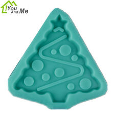 DIY Silicone Christmas Tree Fondant Mould Sugar Craft Cake Decorating Art Tools