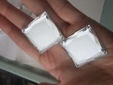 Clear 35 mm cuadrado cose en puntada Joya Gema De Cristal Estrás grano de cristal de danza