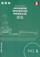Mushroom Model Ship Plans 1: Japanese Destroyer Minekaze