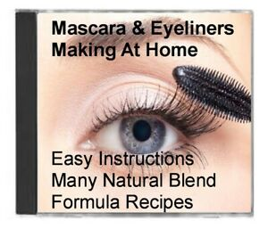 Mascara Eyeliners Making At Home Easy Instructions Natural Blend Formula Recipes