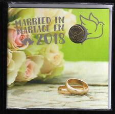 2018 Canada Wedding Gift Coin Set