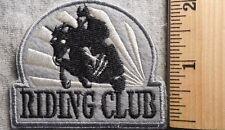 RIDING CLUB PATCH (HORSE, EQUISTRIAN)