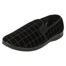 Zapatillas de andar Spot On color principal negro por casa de hombre