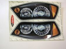 2 SETS DODGE CHARGER HEADLIGHT DECALS AUTHENTIC NASCAR RACECAR DIRT 082015-36