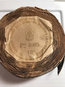 Spool Of Antique French Silk Ribbon