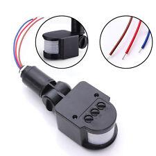 ED Outdoor 110-220V Infrared PIR Motion Sensor Detector Wall Light Switch 140°
