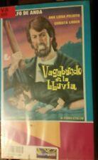 Vagabundo en la LLuvia DE ANDA PELUFFO lazarenzo LINDER  RARE SPANISH VHS VIDEO