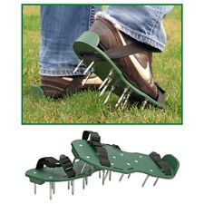 Rasenbelüfter-Sandalen Rasen-Vertikutierer Rasenlüfter 1 Paar mit 26 Nägeln
