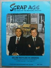Scrap Age Magazine The Voice of the Recycling Industry MAY 1978 Three Sons Pb VG