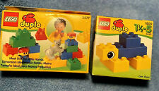 Lot! Lego Duplo Retired New in packages Preschool Sets 2277 w Gray Cat & 1800