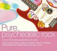 PURE PSYCHEDELIC ROCK various artists (4X CD compilation, 2010) psych, folk rock