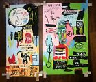 Jean-Michel Basquiat 1982 Hand-painted acrylic painting on cardboard