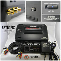 SEGA Master System II Pack: Retrofix Classic - RCA Outputs, 50/60Hz Switch, LED