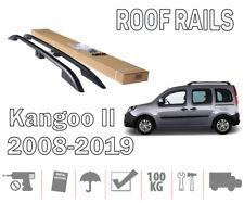 Barres de toit pour Renault Kangoo II 02/08> longitudinales noir