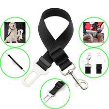 Universal Cat Dog Pet Auto Car Safety Seat Belts Adjustable Harness Lead Black