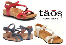 Sandals wedge comfort leather Taos Shoes Ziggie - 3 colours