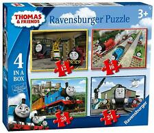 Ravensburger THOMAS & FRIENDS 4 IN A BOX JIGSAW PUZZLE Toys Games BN