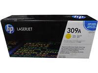 HP Q2672A 309A Yellow Toner Cartridge Genuine OEM Original