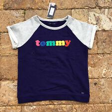 ae8cbe8cae49 Tommy Hilfiger Girls  100% Cotton Short Sleeve Sleeve Tops   T ...