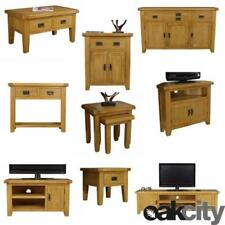 Medium Wood Tone Oak Sideboards, Buffets & Trolleys with 3 Drawers