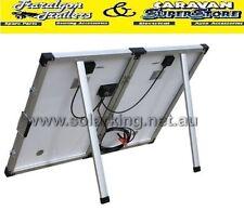 80 watt monocrystaline folding solar panel kit inc regulator caravan ACC542