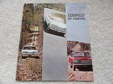 1962 Pontiac Tempest Sales Brochure