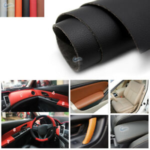 1.38*0.5M DIY Interior Door Handle Panels Armrest Dashboard Leather Cover 1.2MM