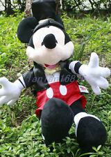 Lovely Disney Mickey Mouse Gentry Wizard Collectible Plush Toy Big Size