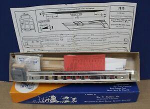 Vintage Walthers 7815 HO 80' Dining Car Craftsman Kit NIB w/ Super Details 1958