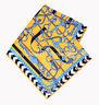 ELEGANT HANDMADE BRAND 100%Twill Silk Scarf TWIC-89864C