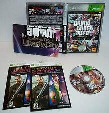 Grand Theft Auto Episodes From Liberty City   XBOX 360  Complete  ..