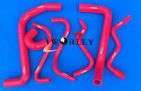 FOR HOLDEN VT/VX/VU/WH Commodore V6 3.8L 1997-2002 Silicone Radiator Hose red